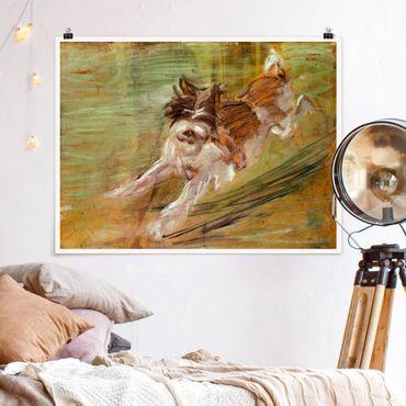 Poster - Franz Marc - Il salto del cane - Orizzontale 3:4