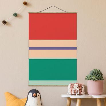 Foto su tessuto da parete con bastone - Poster del film La Sirenetta - Ariel - Verticale 3:2
