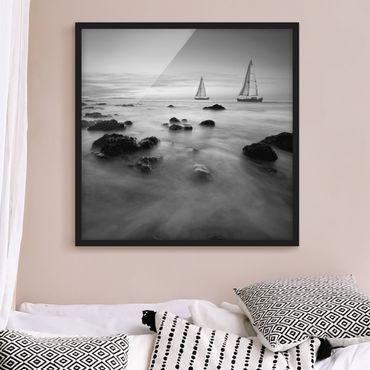Poster con cornice - Sailors At The Ocean II - Quadrato 1:1