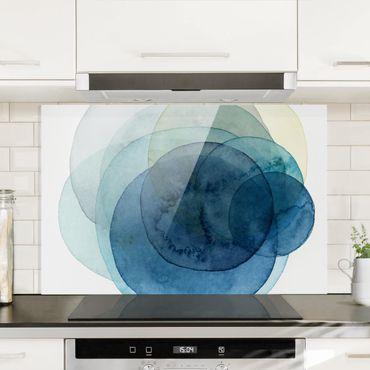 Paraschizzi in vetro - Big Bang - Blue