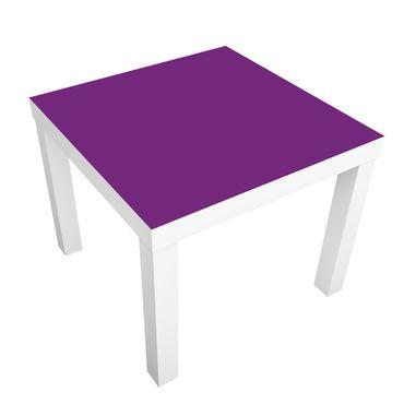 Carta adesiva per mobili IKEA - Lack Tavolino Colour Purple