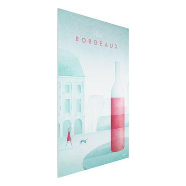 Stampa su Forex - Poster viaggio - Bordeaux - Verticale 3:2