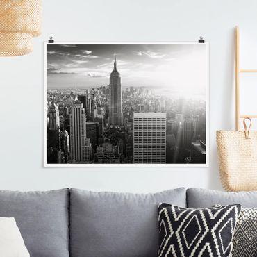 Poster - skyline di Manhattan - Orizzontale 3:4