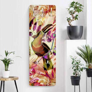 Appendiabiti - Colorato collage - Tukan