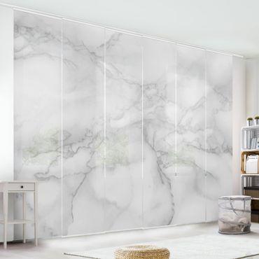 Tende scorrevoli set - Marble Look Black And White