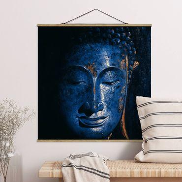 Foto su tessuto da parete con bastone - Delhi Buddha - Quadrato 1:1