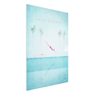 Stampa su Forex - Poster Travel - Palm Springs - Verticale 4:3