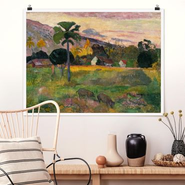 Poster - Paul Gauguin - Come Here - Orizzontale 3:4