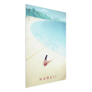 Stampa su Forex - Poster Viaggi - Hawaii - Verticale 4:3