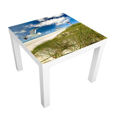 Carta adesiva per mobili IKEA - Lack Tavolino Dune Breeze