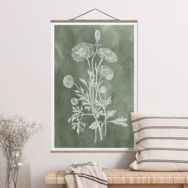 Foto su tessuto da parete con bastone - Illustrazione Vintage Previsione - Verticale 3:2