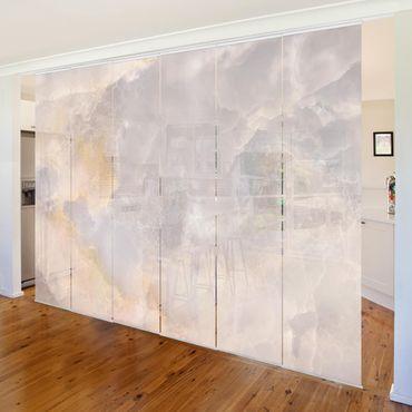 Tende scorrevoli set - Onyx Marble Grey
