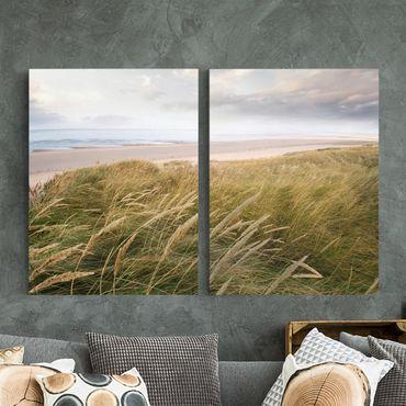 Stampa su tela 2 parti - Dunes Dream - Verticale 4:3