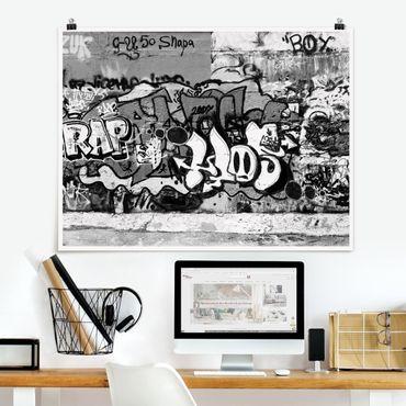 Poster - Graffiti Art - Orizzontale 3:4