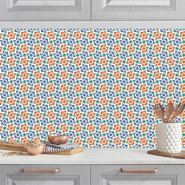 Rivestimento cucina - Motivo Mosaici Alhambra