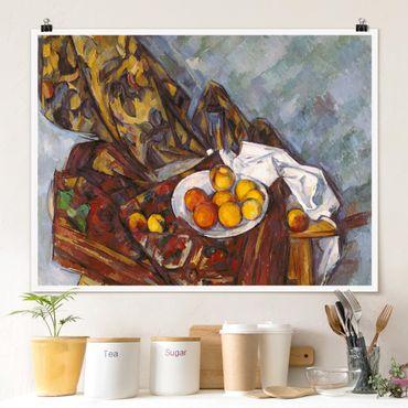 Poster - Paul Cézanne - Natura morta di frutta - Orizzontale 3:4