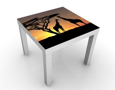 Tavolino design African Sunset