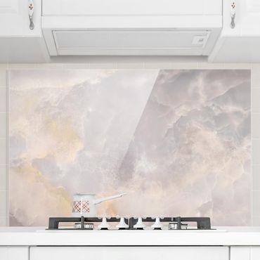 Paraschizzi in vetro - Onyx Marble