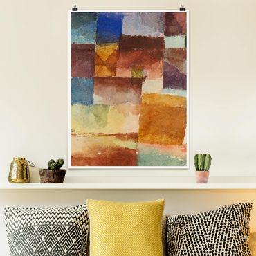 Poster - Paul Klee - Wasteland - Verticale 4:3