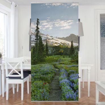 Tenda a pannello - Mountain view meadow patch 250x120cm