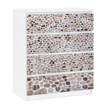 Carta adesiva per mobili IKEA - Malm Cassettiera 4xCassetti - Andalusian Sonewall