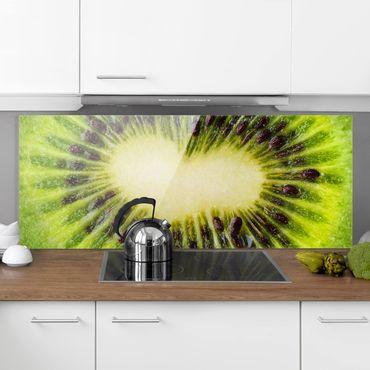 Paraschizzi in vetro - Kiwi Heart