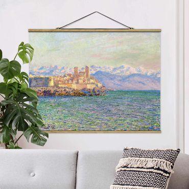 Foto su tessuto da parete con bastone - Claude Monet - Antibes Le Fort - Orizzontale 3:4
