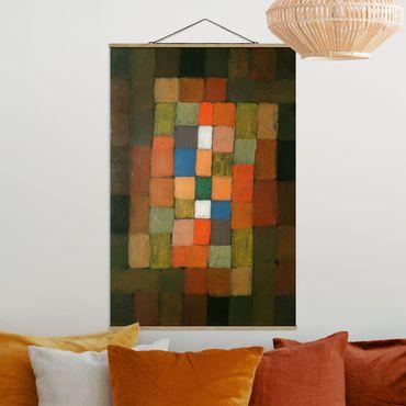 Foto su tessuto da parete con bastone - Paul Klee - Aumento - Verticale 3:2