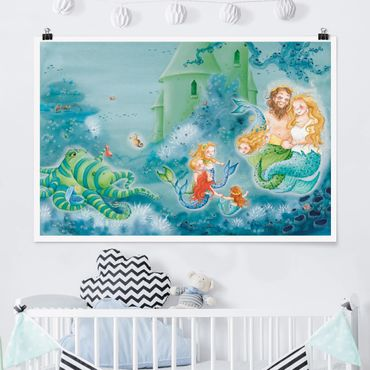 Poster - Il Sea Horse è permesso di rimanere - Orizzontale 2:3