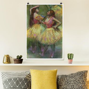 Poster - Edgar Degas - Due ballerine - Verticale 3:2