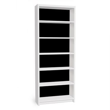 Carta adesiva per mobili IKEA - Billy Libreria - Colour Black