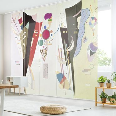 Tende scorrevoli set - Wassily Kandinsky - Reciprocal Accord