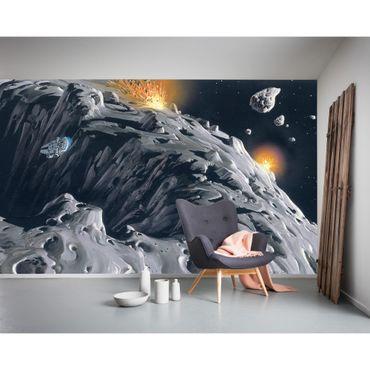 Carta da parati per bambini - Star Wars Classic RMQ Asteroid - Komar fotomurale
