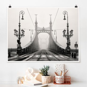 Poster - Ponte A Budapest - Orizzontale 3:4