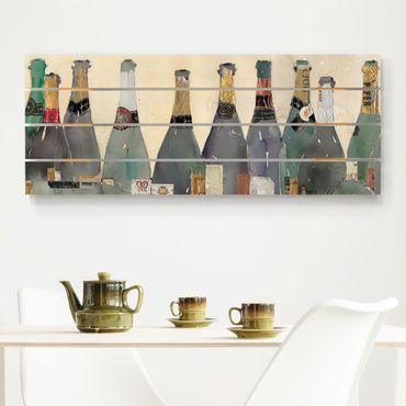 Stampa su legno - Uncorked - Champagne - Orizzontale 2:5