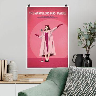 Poster - Poster del film La signora Marvelous Maisel - Verticale 3:2