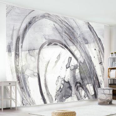 Tenda scorrevole set - Suono bianco e nero II