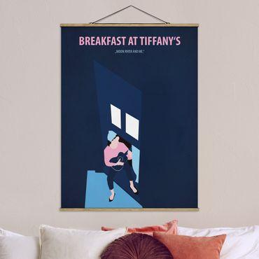Foto su tessuto da parete con bastone - Poster di film Colazione da Tiffany - Verticale 4:3