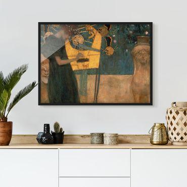 Poster con cornice - Gustav Klimt - Music - Orizzontale 3:4