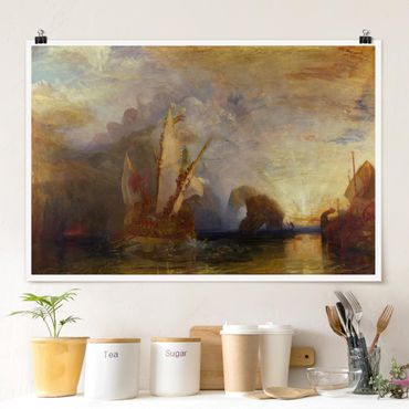 Poster - William Turner - Ulisse - Orizzontale 2:3