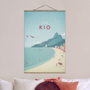 Foto su tessuto da parete con bastone - Poster Travel - Rio De Janeiro - Verticale 3:2