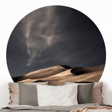 Carta da parati rotonda autoadesiva - dune Colorado
