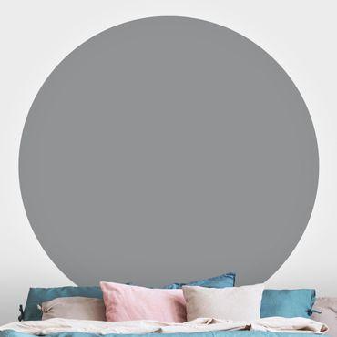 Carta da parati rotonda autoadesiva - Colore Cool Grey