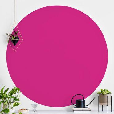 Carta da parati rotonda autoadesiva - Colore Rosa
