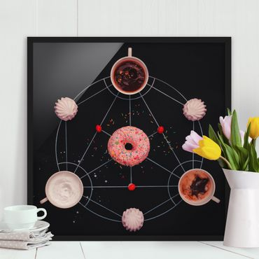 Poster con cornice - Sweet Alchemy Of Cooking - Quadrato 1:1