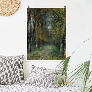 Poster - Auguste Renoir - The Avenue - Verticale 4:3