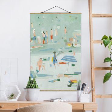 Foto su tessuto da parete con bastone - Estate confetti II - Verticale 3:2