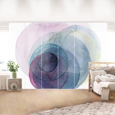 Tenda scorrevole set - Big Bang - Viola