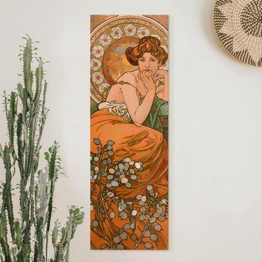 Quadri su tela - Alfons Mucha - Pietre preziose - Topaz