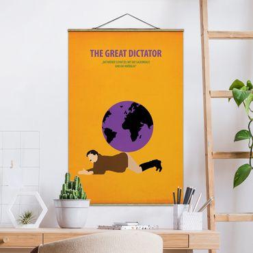 Foto su tessuto da parete con bastone - Poster del film Il grande dittatore - Verticale 3:2